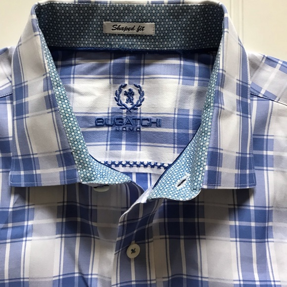 04cc12f9 Bugatchi Shirts | Uomo Long Sleeve Button Down Nwots L | Poshmark